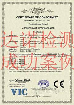 义乌智库贸易有限公司CE认证证书